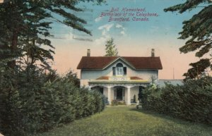 BRANTFORD , Ontario , PU-1914; Bell Homestead, Birthplace of the Telephone