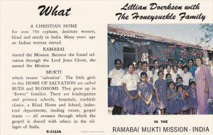 The Honeysuckle Family, Christian Home, Ramabai Mukti Mission, Kedgaon Poona ...