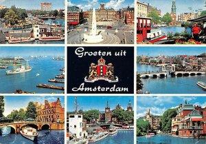Groeten uit Amsterdam Holland Postal Used Unknown