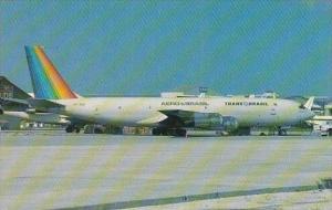 Aero Brasil Tran Brasil Boeing 707 330C
