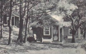 Vermont North Ferrisburg The Pine Grove Cottages And Mt Philo Inn Albertype