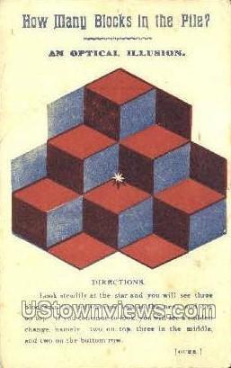 Optical Illusion, Dr. Fred Bruce - Towanda, Pennsylvania