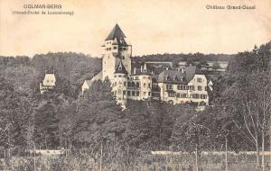 Colmar Berg Luxembourg Chateau Grand Ducal Castle Antique Postcard K22621