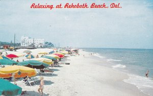 Relaxing at REHOBOTH BEACH , Delaware , 50-60s