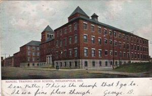 Indiana Indianapolis Manuel Training School 1907