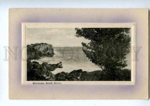 192699 BERMUDA South Shore Vintage embossed postcard