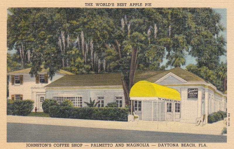 Johnston's Coffee Shop, Daytona Beach, Florida, 1930-1940s