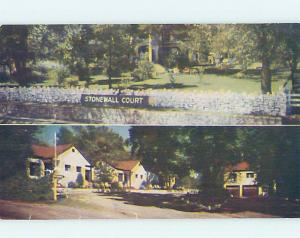Pre-1980 MOTEL SCENE Branson Missouri MO G7783