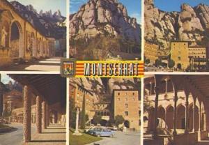 POSTAL 57366: Montserrat diversos aspectos
