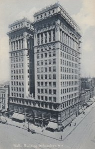 MILWAUKEE, Wisconsin, 1901-07; Wells Building