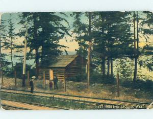 Divided-Back HISTORIC HOME Tacoma Washington WA W4985