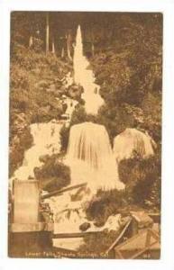 Lower Falls, Shasta Springs, California, 1920-30s