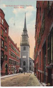 BOSTON, Massachusetts, PU-1914; Old North Church
