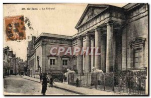 Old Postcard Courthouse Orleans