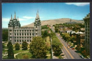 North Main Street and Mormon Temple,Salt Lake City,UT BIN