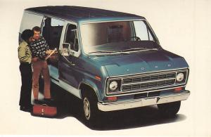 1967 Ford Econoline Dealer's Post Card