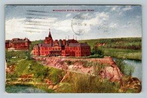 Minneapolis MN-Minnesota, MN State Soldiers Home, Vintage c1913 Postcard