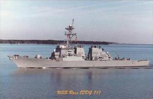 U S S ROSS DDG-71