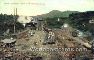 Stone Crusher at Work Panama Canal Panama 1908