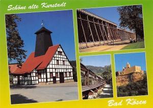 Schoene alte Kurstadt Bad Koesen, Borlachquelle, Gradierwerk Rudelsburg