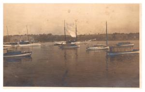 New York  Calcium,  Woodcliff , Harbor, yachts and boats, RPC