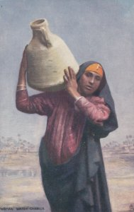 EGYPT; Egyptian Woman carrying Water Jug,  1900-1910s ; TUCK # 7200