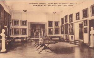 Portrait Gallery,Maryland Historical Society Monument St. and Park Ave., Balt...