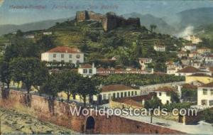 Portuguese Postcard Forteresse de S Joao Baptista, Madeira-Funchal Portugal  ...