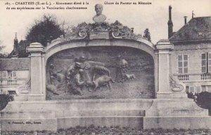 France Chartres Monument eleve a la Gloire de Pasteur