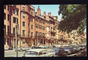 Boston, Massachusetts/MA/Mass Postcard, Historic Beacon Street, 1960's?
