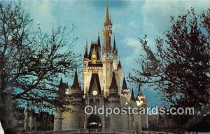 Cinderella Castle, Fantasyland Walt Disney World, FL, USA Postcard Post Card ...