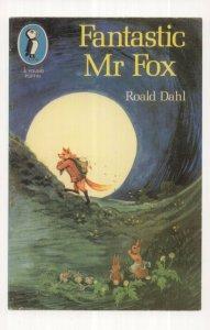 Fantastic Mr Fox Roald Dahl 1974 Puffin Book Postcard