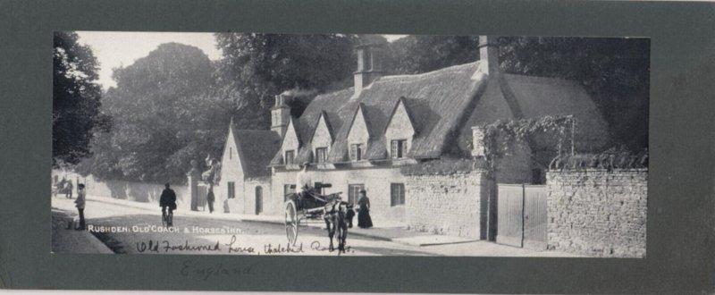 RUSHDEN , Northamptonshire , England , 1907 ; Old Coach & Horses Inn ...pan...