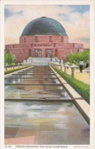 Terrazo Promenade and Adler Planetarium Chicago World's Fair 1933