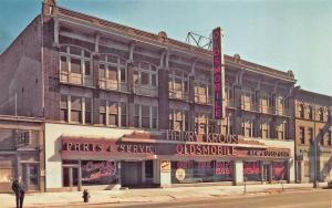 Philadelphia PA Harry Krouse Oldsmobile Car Dealership Postcard