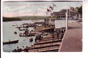 Many People and Boats, Popular North West Arm Rowing Club, Halifax, Nova Scot...