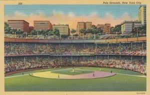 NEW YORK CITY Baseball Stadium , 1930-40s ; Polo Grounds Interior