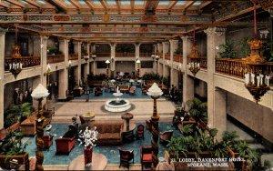 Washington Spokane Davenport Hotel The Lobby