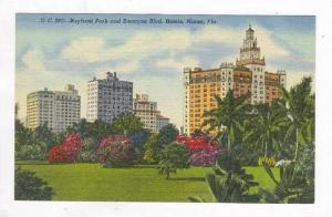 Bayfront Park & Biscayne Blvd.,Miami,Florida,30-40 s