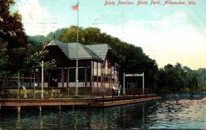 Milwaukee Milwaukee Blatz Park Blatz Pavilion 1910