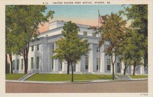 ATHENS , Georgia , 1930-40s ; United States Post Office