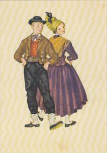 Austria Traditional Costume Haute Autriche Innviertel
