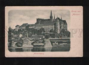 053449 GERMANY GRUSS Meissen Albrechtsburg Vintage PC