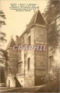 Old Postcard Cluny palace j d Amboise bati by the latter century xv