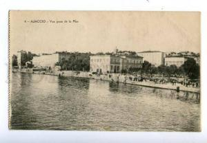 138445 France AJACCIO prise de la Mer Vintage postcard