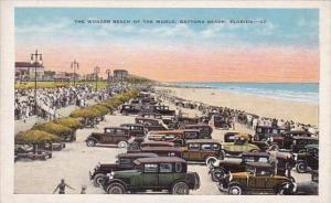 Florida Daytona Cars On The Wonder Beach Of The World