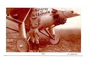Spirit of St. Louis, Lindbergh
