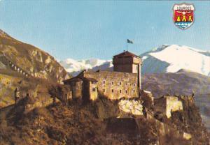France Lourdes Le Chateau Fort et les Pyrenees