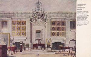 Pennsylvania Philadelphia Independence Chamber