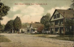 Hancock NH Main Street East c1915 Postcard